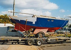 We also move boats of 'character' which are sometimes in need of a little TLC !