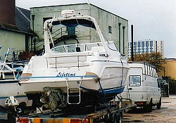 'Lifetime' , out of the water in Southampton